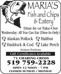 MARIA'S FISH & CHIPS