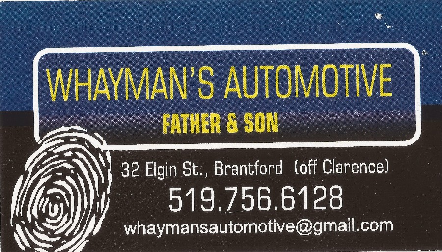 WHAYMAN'S AUTOMOTIVE