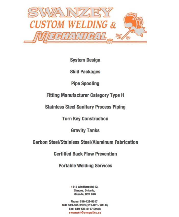 Swanzey Custom Welding & Mechanical