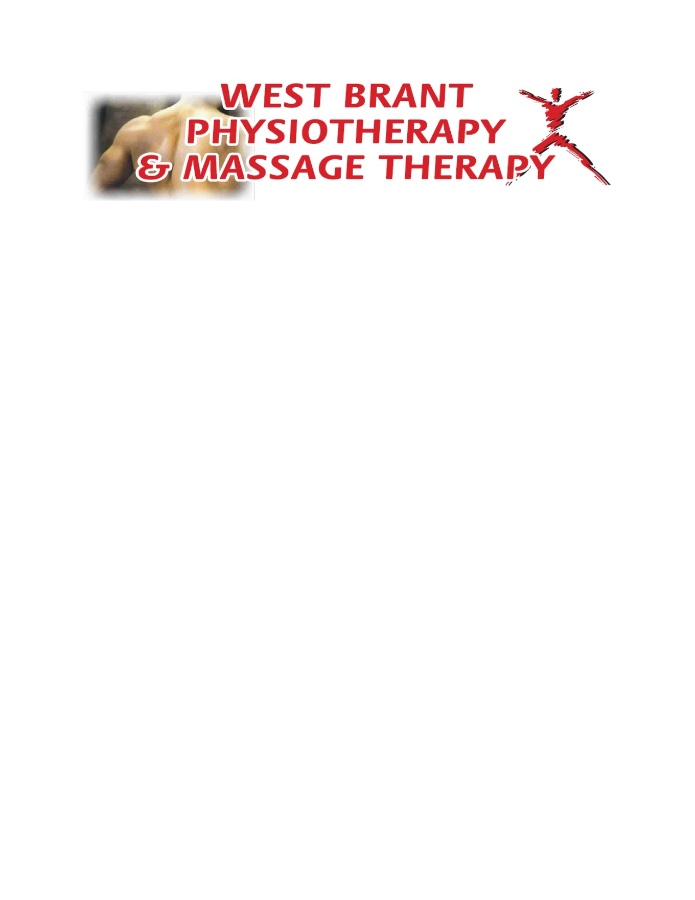 West Brant Physiotherapy & Massage Therapy